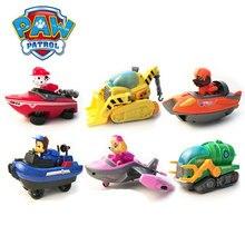 Paw Puppy Patrol Anak Suit Deformasi Mainan untuk Anak Diecast Mainan Kendaraan Anak Laki-laki Mainan Anak Hadiah Anime Model Mobil