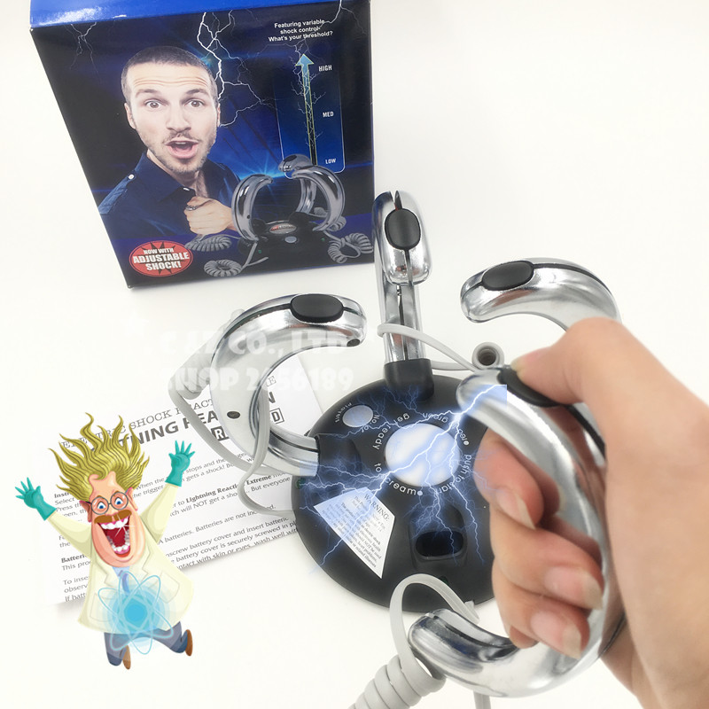 Shocking Claw handle Electric Shock Reaction game party Creative toy Club birthday TV show love it image
