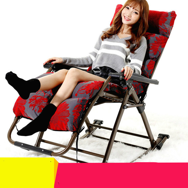 Outdoor new style excellent quality luxury leisure  folding rocking chair balcony chair iron alloy free shipping
