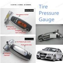 High quality Car tire gauge car tire pressure gauge free shipping car LCD Display tire pressure gauge