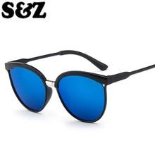 Women Cat's Eye Sunglasses Brand Designer Retro Fashion Ladies Outdoor Vintage Cat Eye Glasses Femme Gafas Oculos UV400 Mirror