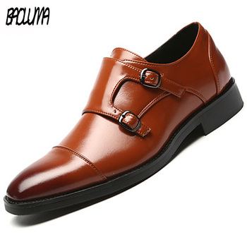 Dress Shoes Men High Quality Leather Formal Shoes Men Social Masculino Zapatos De Hombre De Vestir Formal Slip on Moccasins