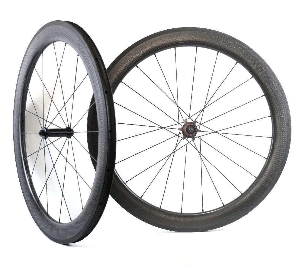 NEW Model! Golf surface carbon wheels 58mm depth 25mm width rims Dimple surface 404 carbon wheelset with Chosen 1586/7187 hub 700c road bike dimple carbon rims dimple carbon wheels 58mm depth 25mm width carbon wheelset 20 24h wheelset parts bicycle wheel