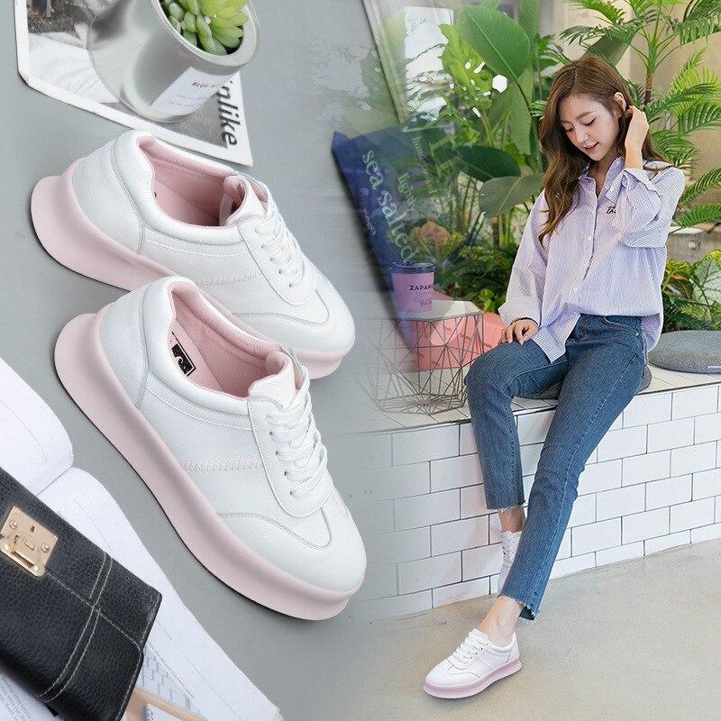 Casual Le Femininos Piane Delle Donne Scarpe Bella Signore Estate white Blue Zapatos Mujer Nuove Mocassini Allacciatura Pop Primavera Di pink Per Calcados znTY8vA