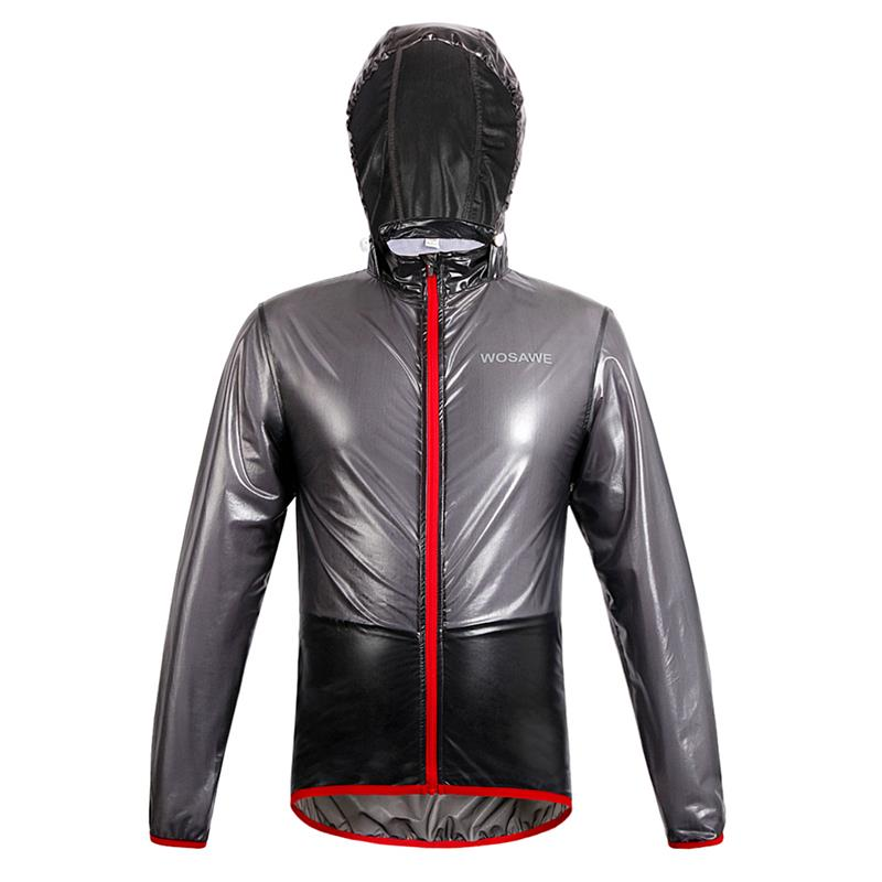 WOSAWE Cycling Jacket Multi function Rain Jackets Waterproof Windproof Mtb Bike Bicycle Jersey Ciclismo Rain coat with hood fcfb