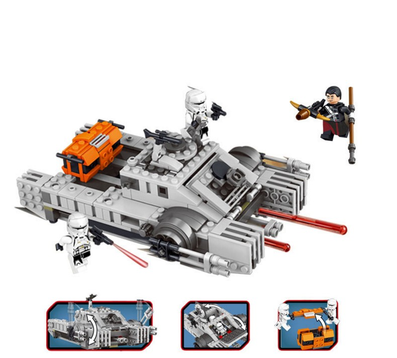35012 Buidling Blocks Rogue One A Story Imperial Assault Hovertank with 75152 Compatible Bricks Toy For