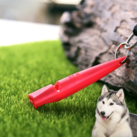 Pet Dog Animal Training Whistle Sound Dog Training Portable with laser number