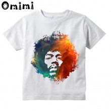 Jimi Hendrix Kids Print T-Shirt Boys Girls Toddlers