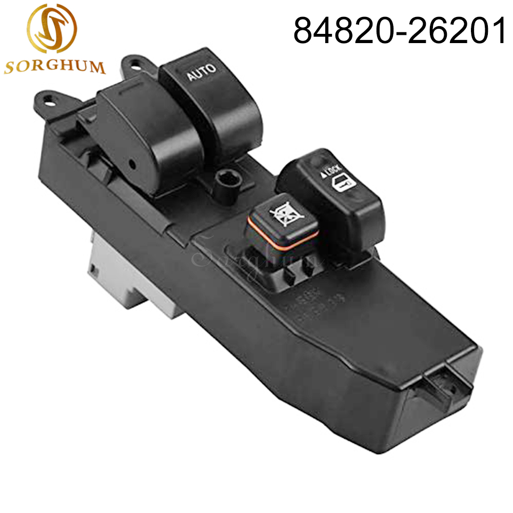sorghum New 84820-26201 Electric Master Power Window Switch For Toyota Hiace 2006-2014 8482026201