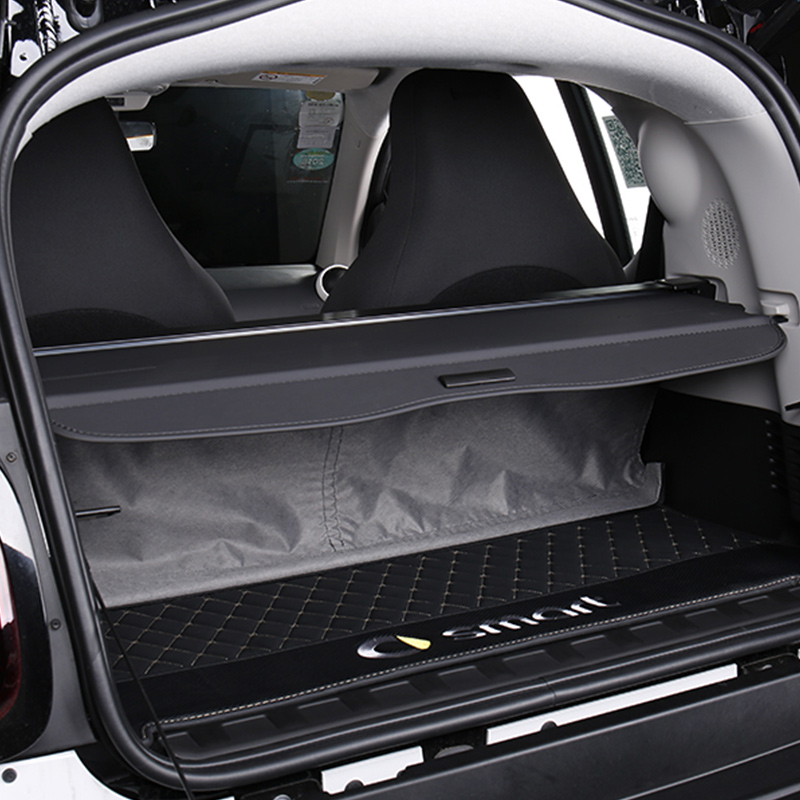 For Smart Fortwo 451 453 Cover Curtain Trunk Partition Partition Curtain Partition Storage Rear Racks Car