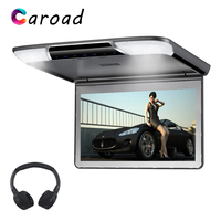 MP5 Player 11.6 Inch Full HD 1080P Screen Flip Down Car Roof Monitor Support USB/SD/IR/FM Transmitter/HDMI Ceiling TV For Car