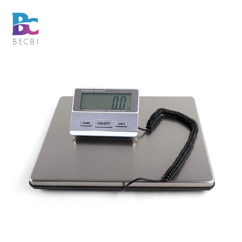 BECBI <font><b>Digital</b></font> Postal Mailing <font><b>Scale</b></font> 200 kg Luggage Weighing Post <font><b>Scale</b></font>,Bench <font><b>Scale</b></font>,UPS USPS Post Office Weight Shipping <font><b>Scale</b></font> image