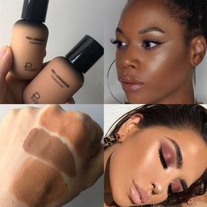 Image 3 - Gesicht Foundation Creme Concealer Volle Abdeckung Matte Basis Professionelle Make Up Haut Ton Corrector Für Dunkle Haut Schwarz Menschen