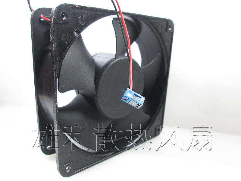 New SUNON 12038 KD2412AMBX-6A 24V 7.2W Plastic Housing Two-wire Danfoss Inverter Chassis Fan delta 12038 12v cooling fan afb1212ehe afb1212he afb1212hhe afb1212le afb1212she afb1212vhe afb1212me