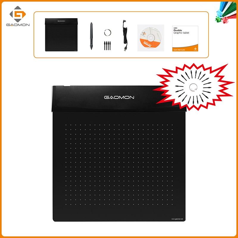 Brand New GAOMON S56K Black Graphic Pen Tablet Diseño flexible - Periféricos de la computadora - foto 5