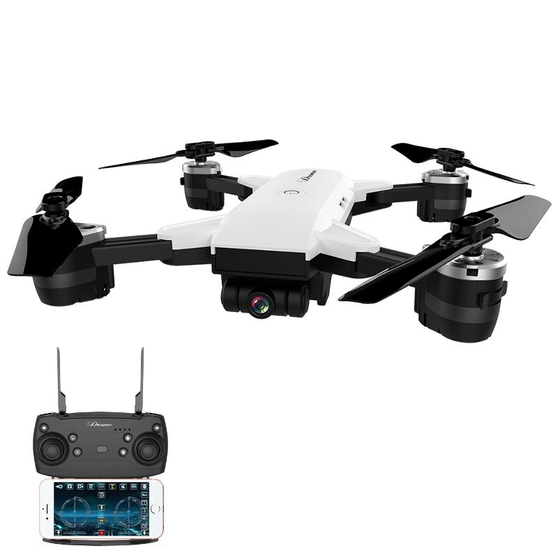 JDRC JD-20 JD20 WIFI FPV With Wide Angle HD Camera High Hold Mode Foldable Arm RC Quadcopter RTF VS JD-11 Eachine E58