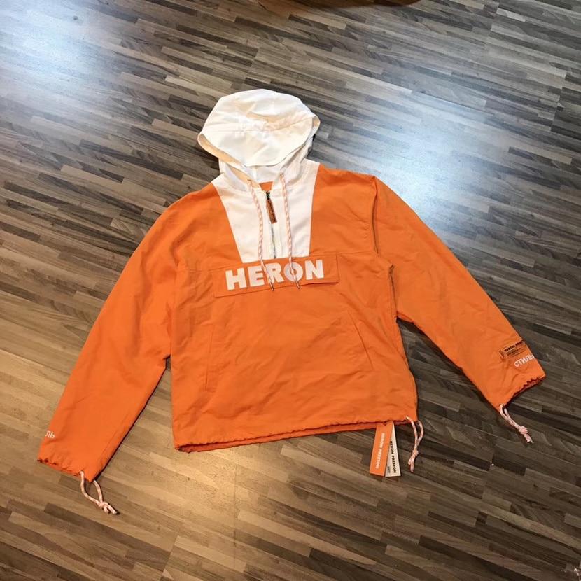 Heron Preston Jacket Men Women 1:1 High Quality Heron Preston Windbreaker Designer Clothes Jackets Heron Preston Jacket lakers шорты