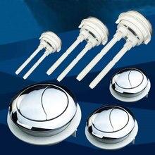 38 мм двойной смывной туалет Кнопка бака унитаз аксессуары для ванной комнаты водосберегающий клапан