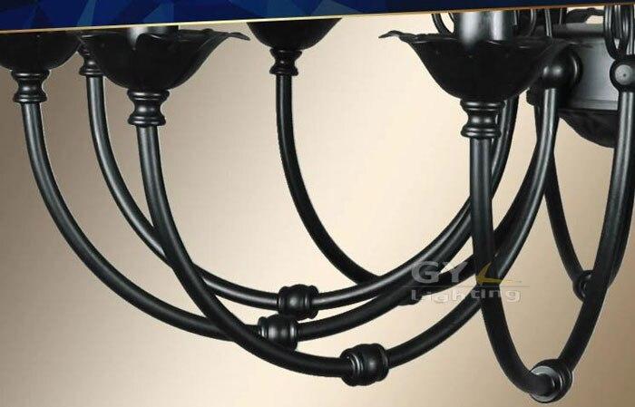 Ветка черного дерева люстра Лофт новые светильники черная гостиная столовая лампы светильник pelucia блеск декоративные - 4