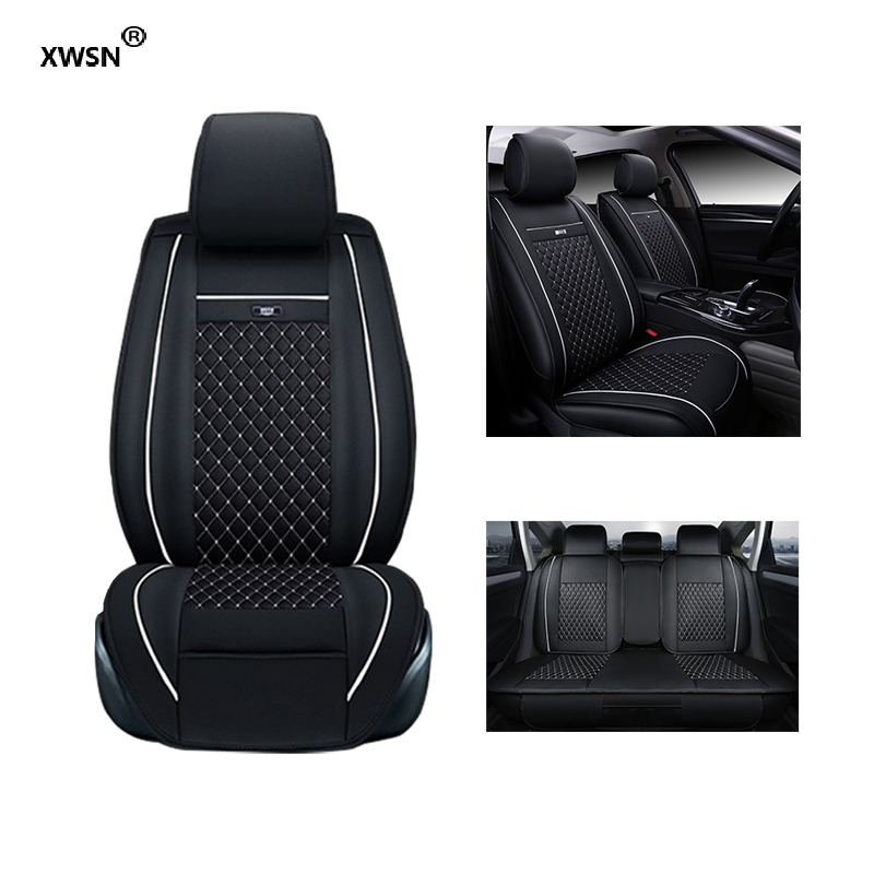 XWSN Universal car seat cover for lada 2107 2114 granta vesta priora kalian largus xray niva car seat cover Car seat protector 2x car led w5w t10 194 clearance light for lada granta vaz kalina priora niva samara 2 2110 largus 2109 2107 2106 4x4 2114 2112