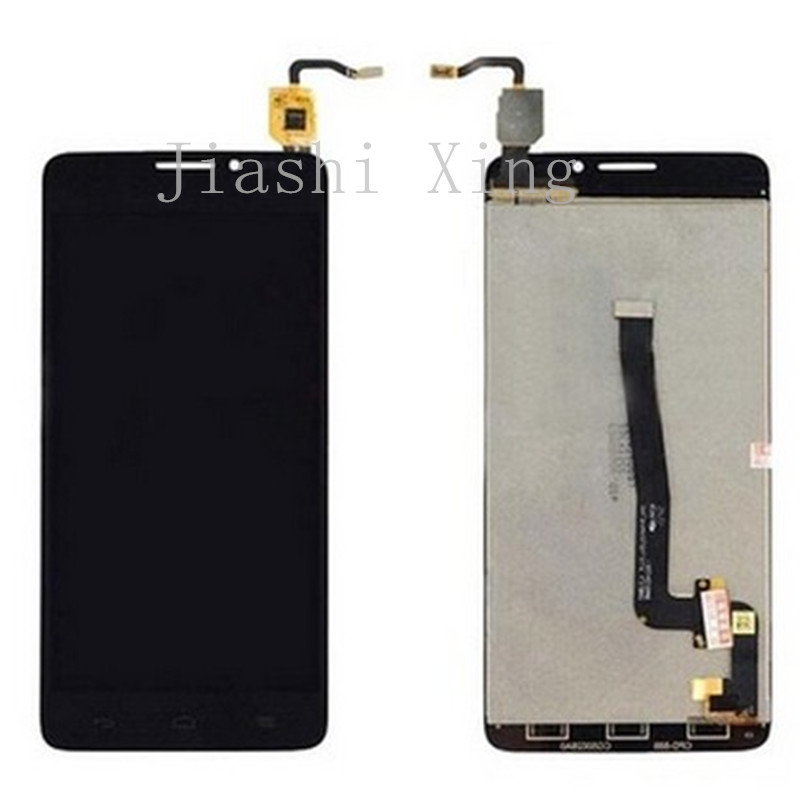 OT6043 LCD Display+Touch Screen Panel Digitizer Accessories For Alcatel One Touch Idol X+ X Plus 6043 6043D 6043A Free Shipping