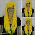 Оптовая DM32028> женская парик желтый парик