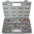 40 Pcs HD PRO GRAU Tap Die Set MM Métrica Criar Tópicos Parafusos de Metal Ferramentas de Corte