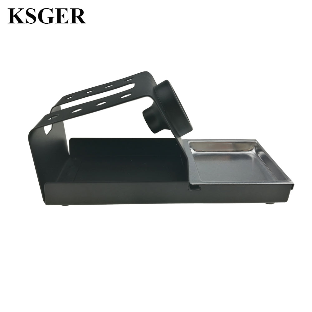 Image 3 - KSGER Soldering Iron Station Stand DIY T12 Holder Welding Iron Tips STC STM32 Metal Handle Aluminum Alloy Tools Repair Phone    - AliExpress