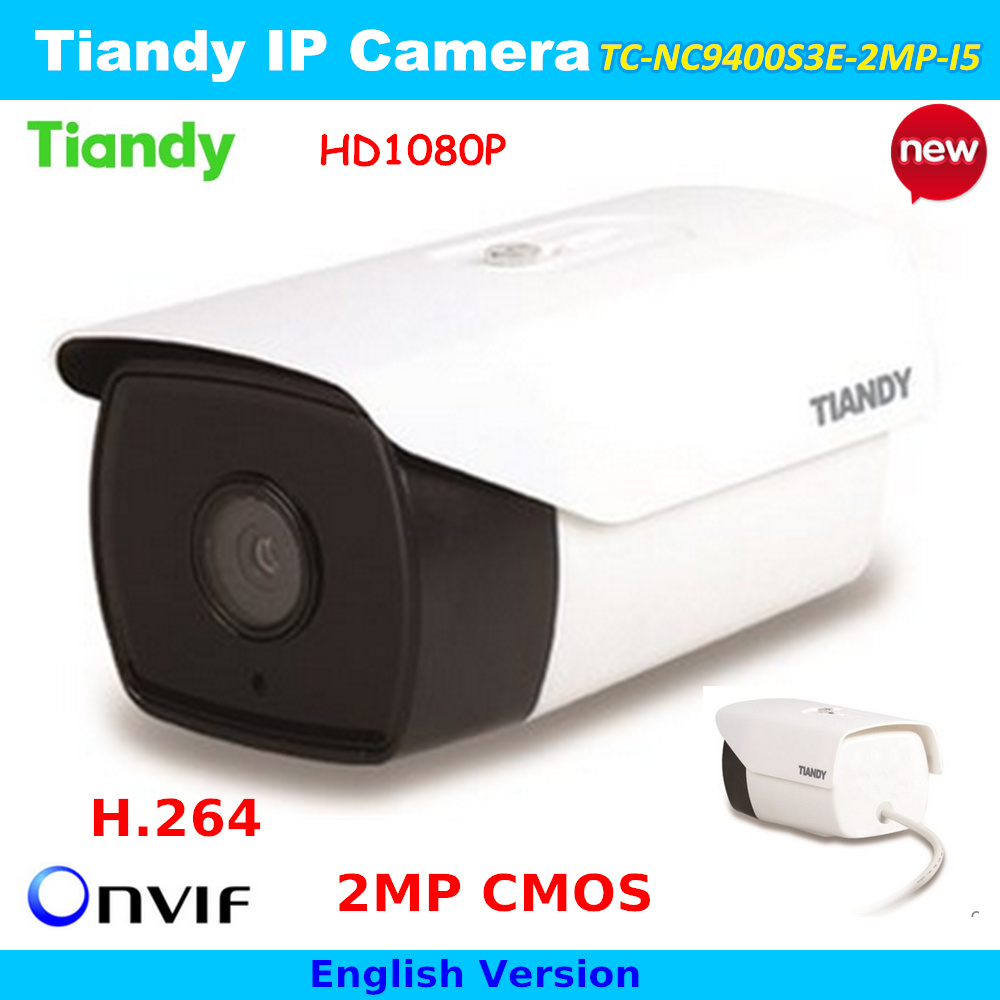 Tiandy IP Camera 1080P Onvif Phone Remote 2.0MP Video Surveillance Camera TC-NC9400S3E-2MP-I5 Night vision IP Cam