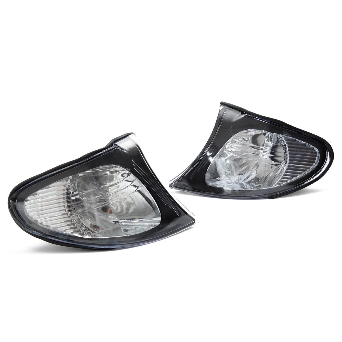 ФОТО 2016 New 1 Pair Brand New Corner Lights Sidelights For BMW E46 3-Series 4DR 02-05
