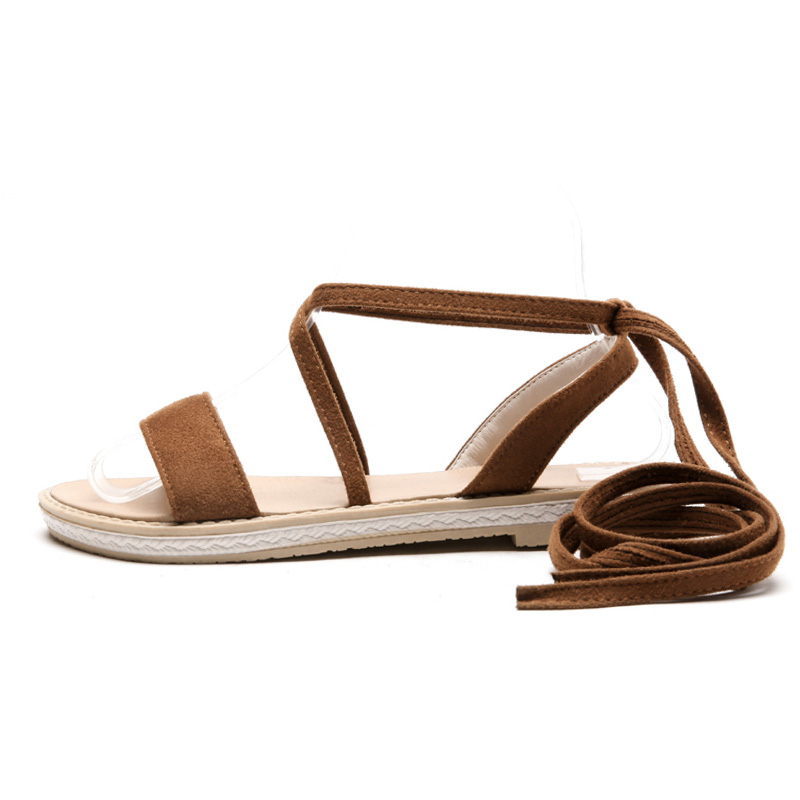Suola Toe Platform Donna Summer Gladiatore Cammello Casual Wetkiss Girl Open floccate 2018 Scarpe Nero Sandalo New piatta wgqOAPz