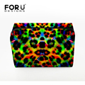 FORUDESIGNS 2016 New Style Cosmetic Bag Leopard Print Women Makeup Bag Travel Portable Handbag Storage Make-up Tools Bags