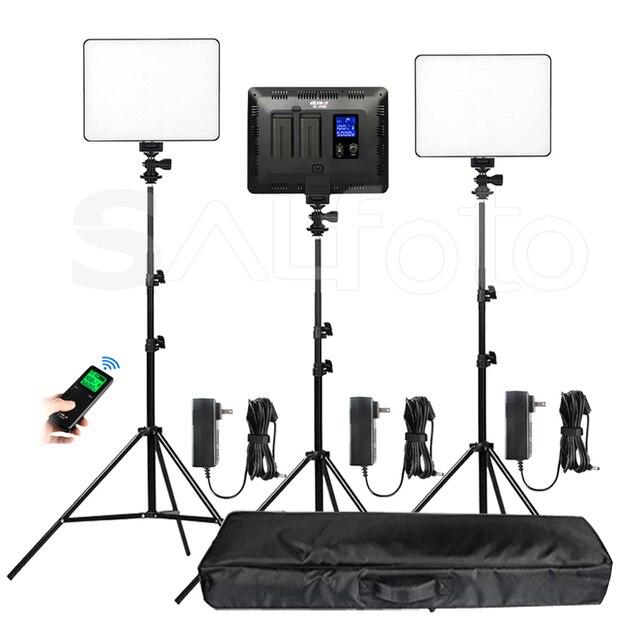 Viltrox Panel de luz de vídeo LED, delgado de doble color VL 200T, Kit de soporte VL 200 3300 5600k 30W, juego de iluminación de relleno de fotos remoto inalámbrico