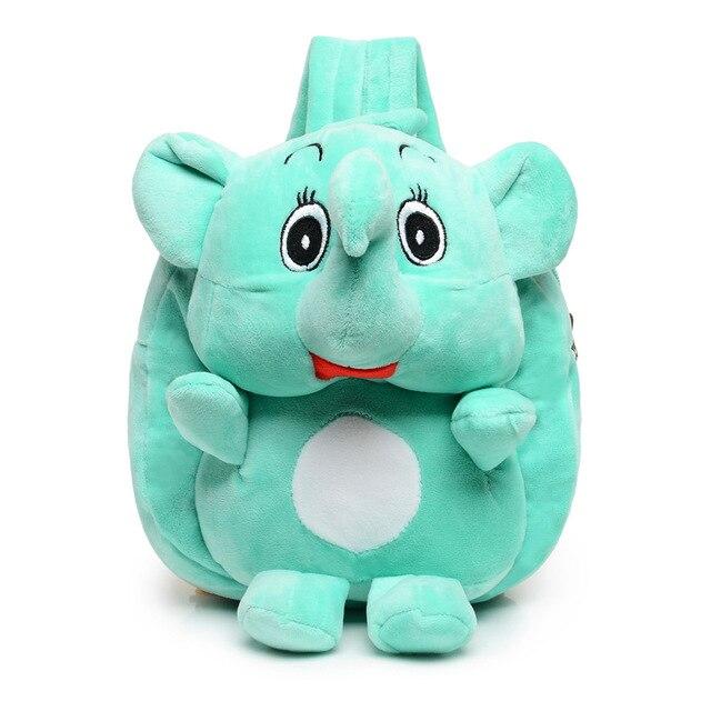 2018 ילדים חדשים תרמיל קטיפה מצויר חמוד מיני צעצוע מתנות לילדים תיק בית ספר גן ילדים שקיות תלמיד תינוק ילדה ילד