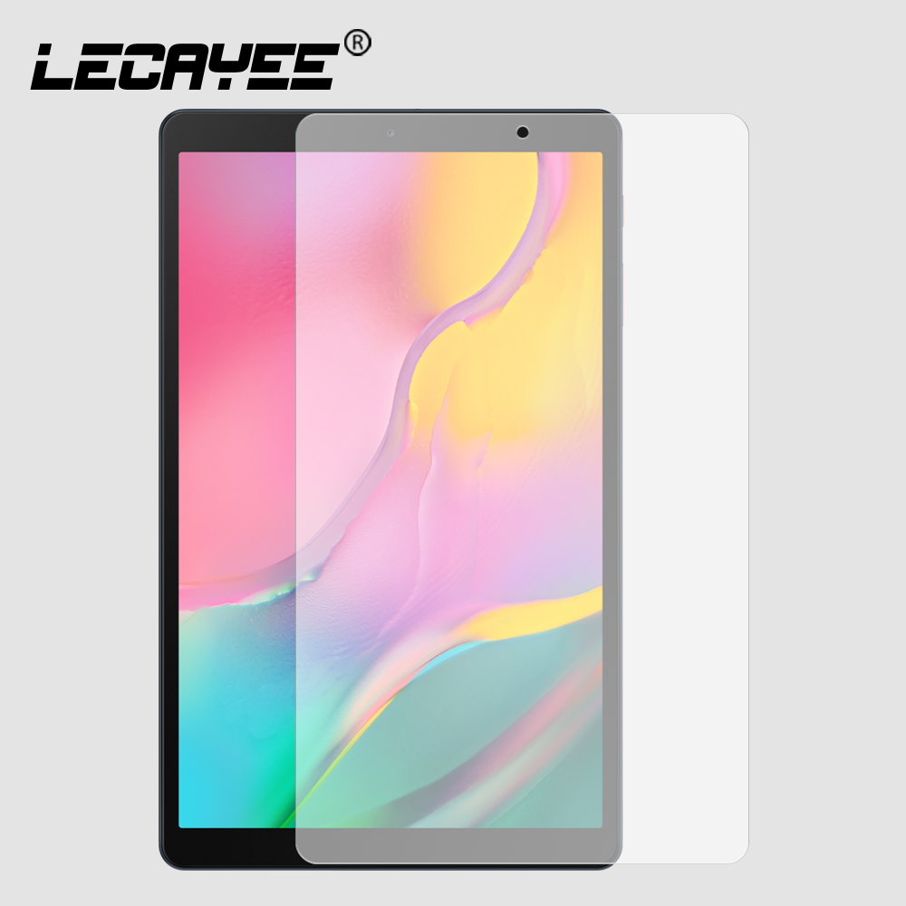 LECAYEE 9H Scratch Proof Tempered Glass For Samsung Galaxy Tab A 10.1 Inches 2019 SM-T510 T515 Ultra Clear Screen Protector HD