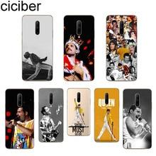 ciciber Freddie Mercury Phone Case For Oneplus 7 Pro 1+7 Pro Soft TPU Cover for Xiaomi 9 Coque For Redmi Note 7 6 Pro Fundas