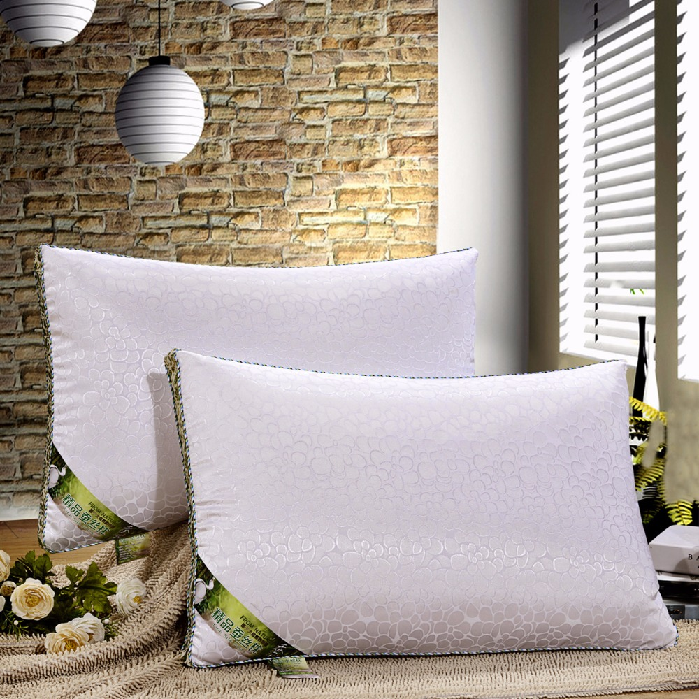 Ev ve Bahçe'ten Yatak Yastıkları'de % 100% Dut ipek dolgu yastık 48x74 cm Çevre Dostu saf doğal ipek'da  Grup 1