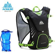 AONIJIE 8L Backpack Outdoor Sports Racksack Maratho Hydration Bladder Water Bag For Outdoor Cycling Camping Hiking