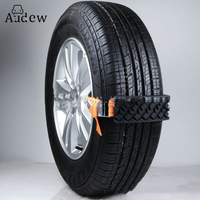 2PCS Car Tire Belt Snow Chains Universal Mini Plastic Winter Tyres Wheels Car Styling Anti Skid Autocross Outdoor Roadway Safety
