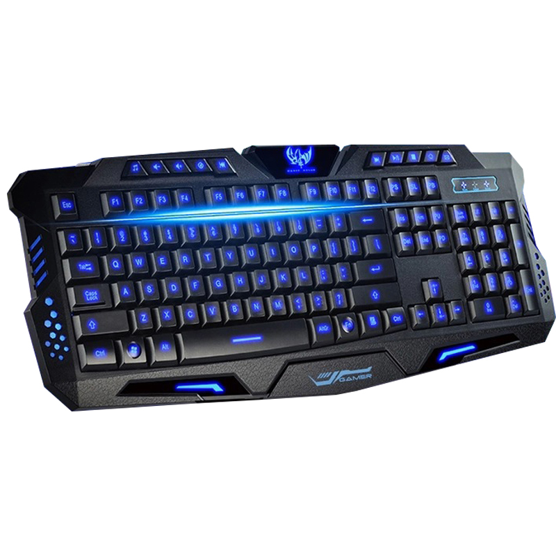 Backlit Wired Gaming keyboard LED s