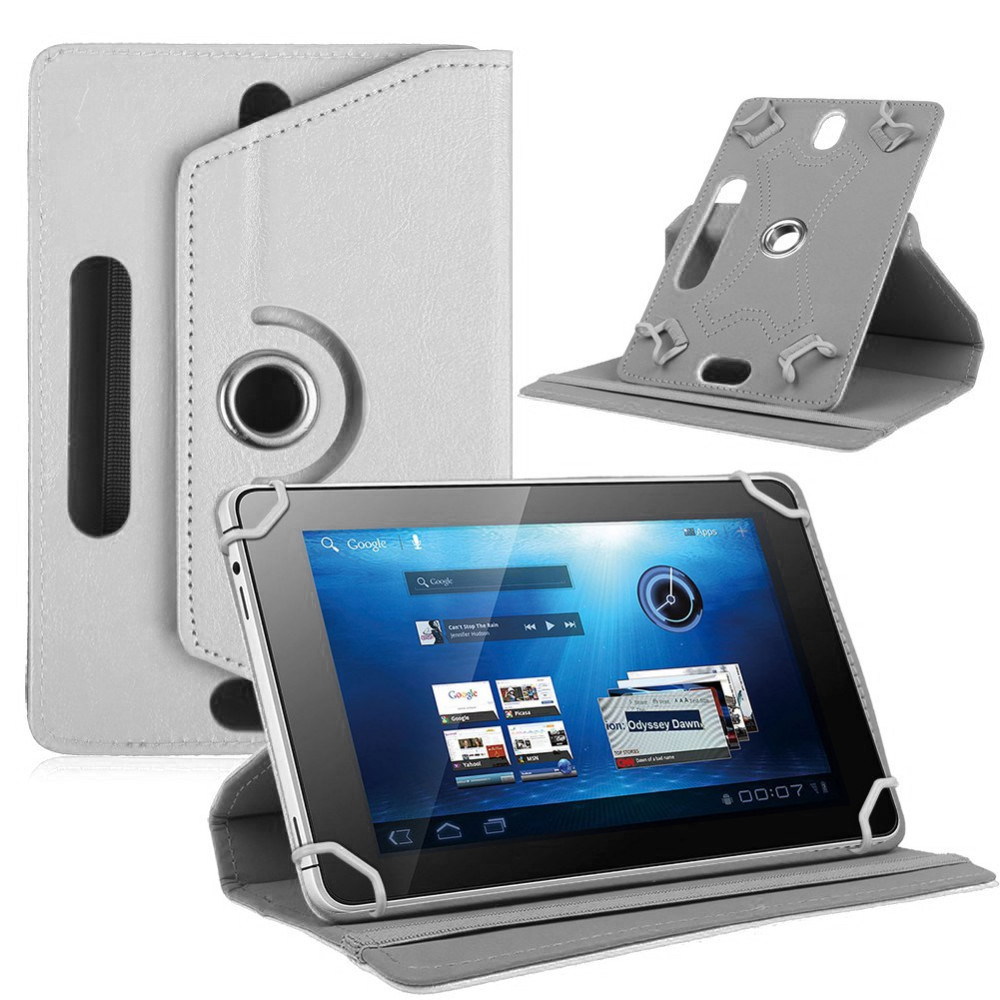 Myslc 360 Degree Rotating Cover for DEXP Ursus P170 4G 7 Inch Tablet PU Leather Protective Case