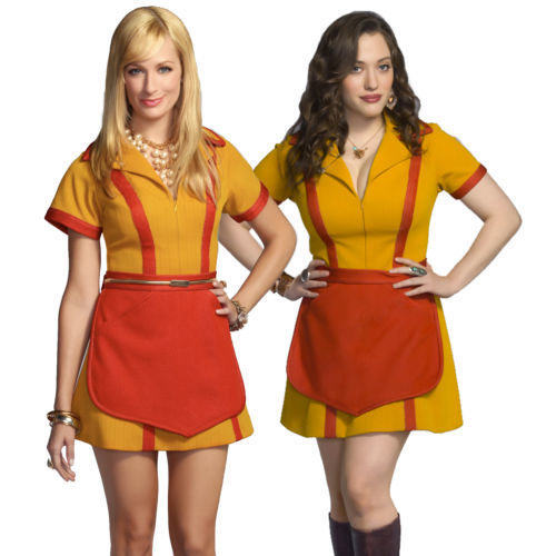 two broke girls halloween costumes - Gir Halloween Costumes