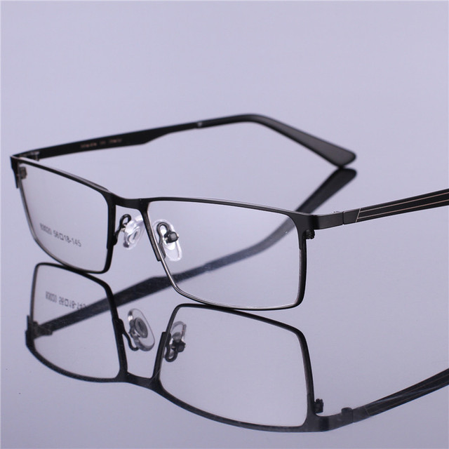 7237ce3c557 TR90 Eyeglasses Frame Men Computer Optical Glasses Spectacle Business  Frames Male HD Transparent Clear Lens Armacao