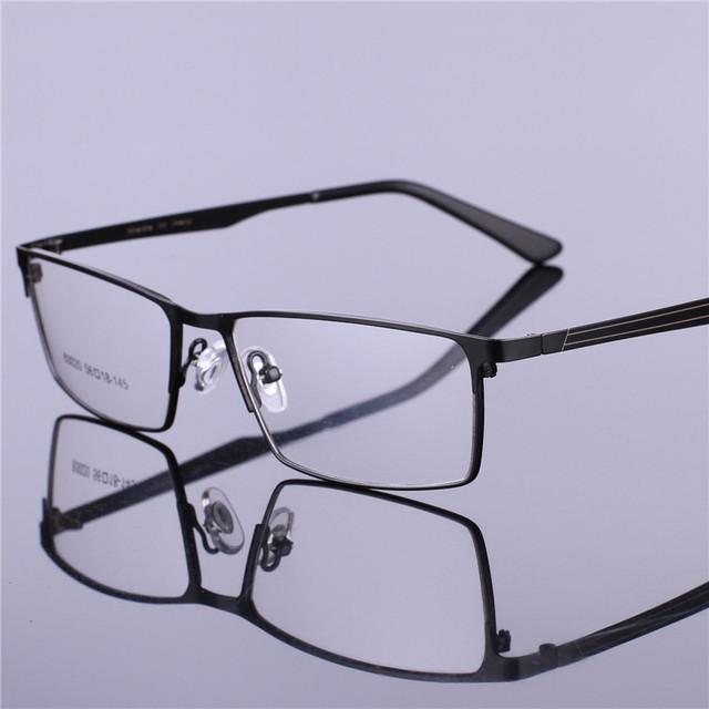 TR90 Marco de Las Lentes Hombres Informáticos Vidrios Ópticos Spectacle Marcos de Negocios Masculino HD Armacao gafas de Lente Transparente