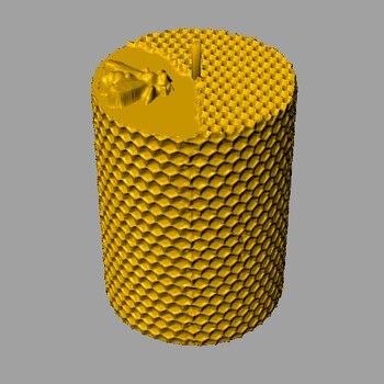 Силиконовая сотовая свеча форма глиняные формы для Свеча «сделай сам» ручной работы силиконовая форма