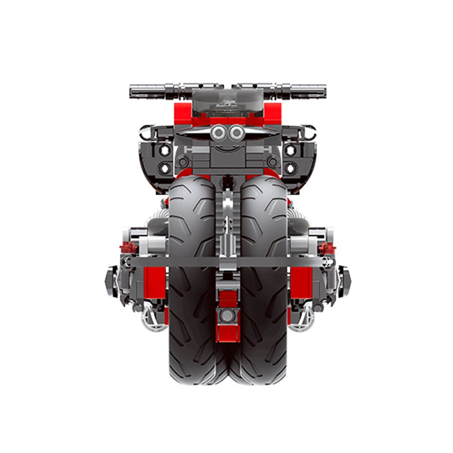XINGBAO XB-03021 Off-road Motorcycle Building Block 23