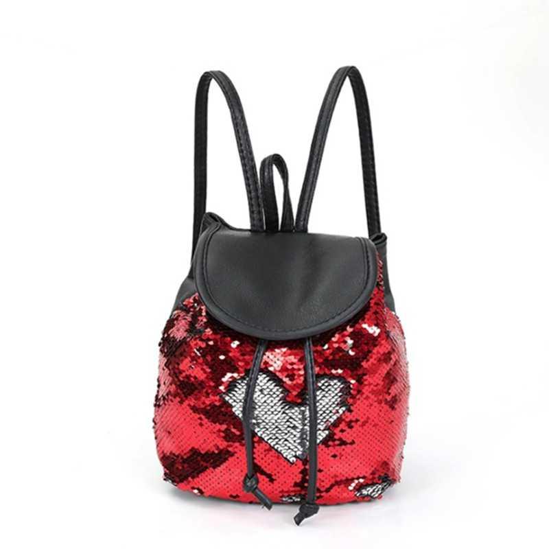 2019 Новое одеяло «хвост русалки» из блесток сумка через плечо, блестящие Блестящий студент пайетки мини рюкзак сумка женская уличная обувь Путешествия мешок для хранения