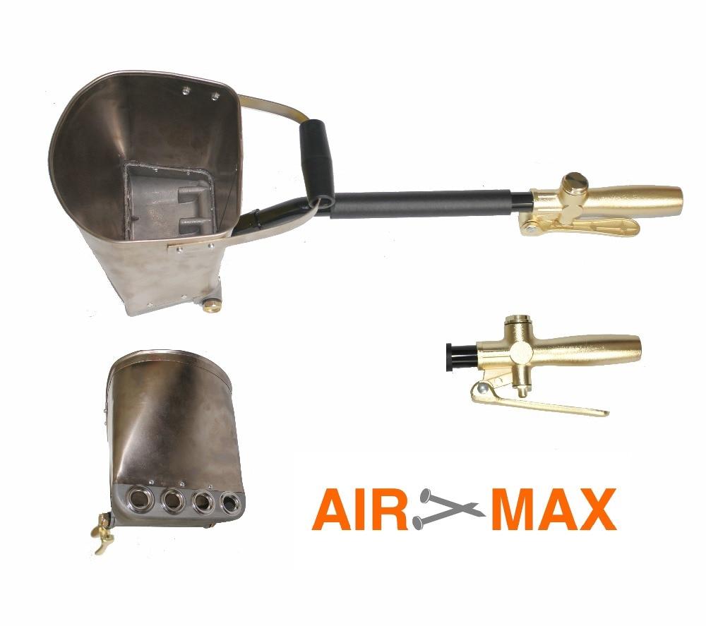 Воздушный Распылитель для штукатурки, строительный распылитель, штукатурный пистолет Хоппер, пистолет распылитель для цемента (не включает Таможенный налог)|hopper gun|sprayer gunstucco sprayer | АлиЭкспресс