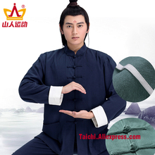 Chi Clothes Male Linen Roll Sleeves
