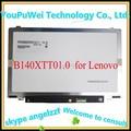 14.0 ''touch b140xtt01.0 pantalla para lenovo s415t s400 s415 s410p portátil llevó la pantalla de reemplazo de pantalla 1366*768 de 40 pines
